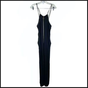 Assembly Label Sleeveless Jumpsuit Front Zip
